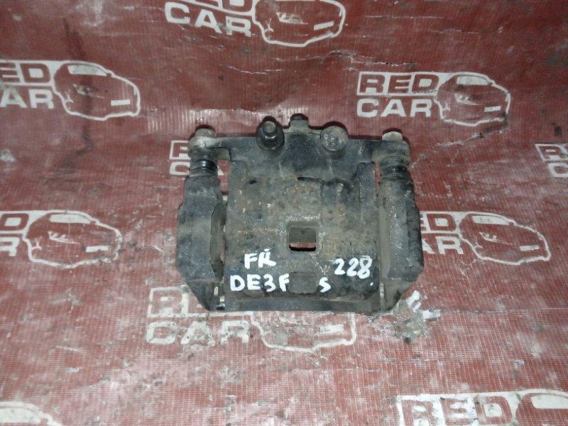 Суппорт Mazda Demio DE3FS-176697 ZJ 2008 передний правый (б/у)