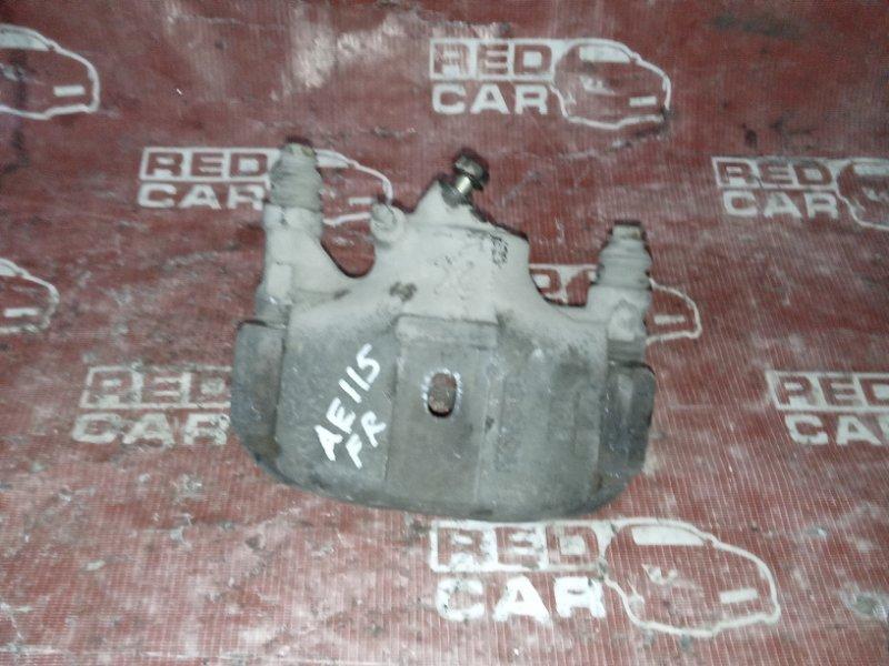 Суппорт Toyota Carib AE115 передний правый (б/у)