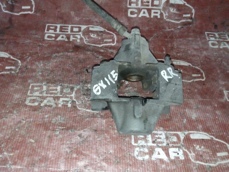 Суппорт Toyota Verossa GX115 задний правый (б/у)