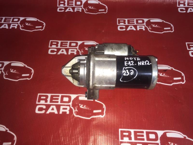 Стартер Nissan Note E12-099999 HR12DDR 2008 (б/у)