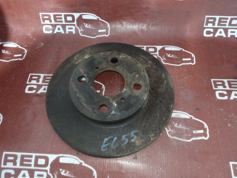 Тормозной диск Toyota Corsa EL55 передний (б/у)