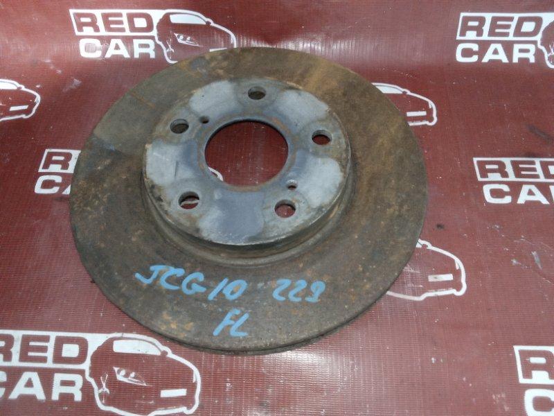 Тормозной диск Toyota Progres JCG10-0016564 1JZ 1999 передний (б/у)