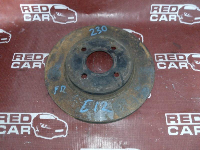 Тормозной диск Nissan Note E12-099999 HR12DDR 2008 передний (б/у)