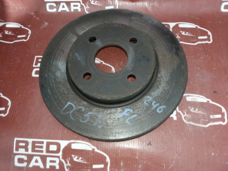 Тормозной диск Mazda Verisa DC5W-305952 ZY 2006 передний (б/у)