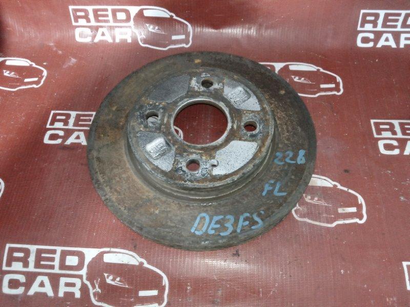 Тормозной диск Mazda Demio DE3FS-176697 ZJ 2008 передний (б/у)