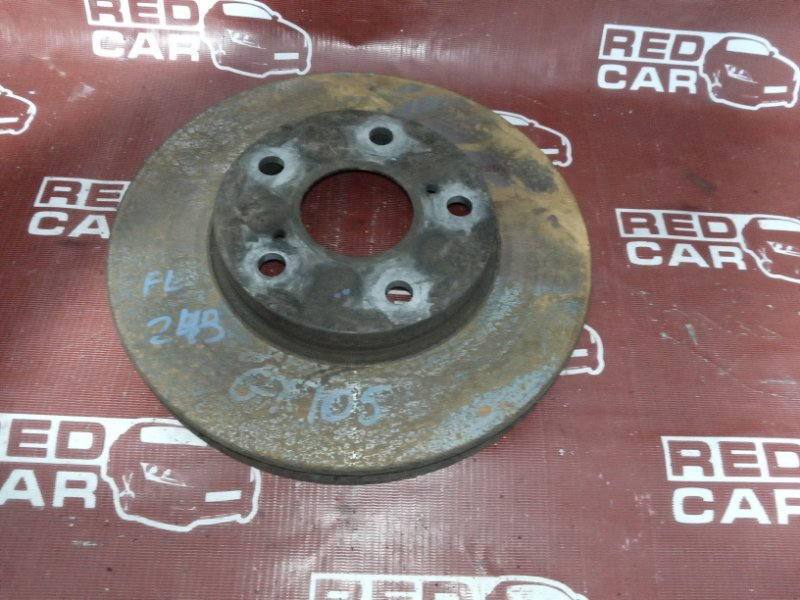 Тормозной диск Toyota Mark Ii GX105-6007078 1G 1999 передний (б/у)