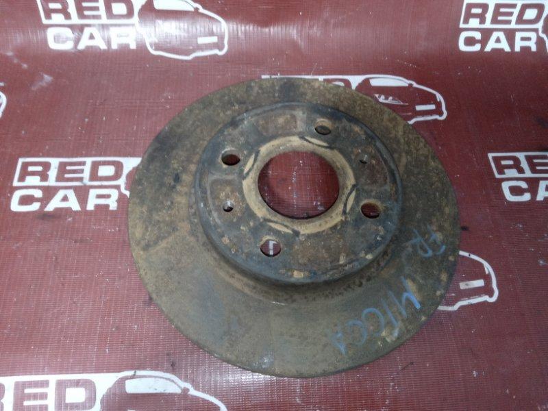 Тормозной диск Toyota Duet M100A передний (б/у)