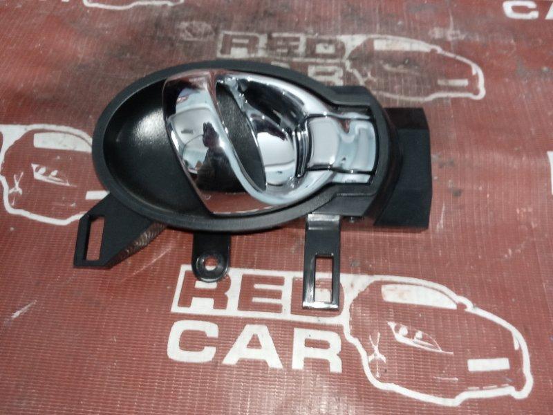 Ручка двери внутренняя Nissan Note E12-099999 HR12DDR 2008 передняя правая (б/у)