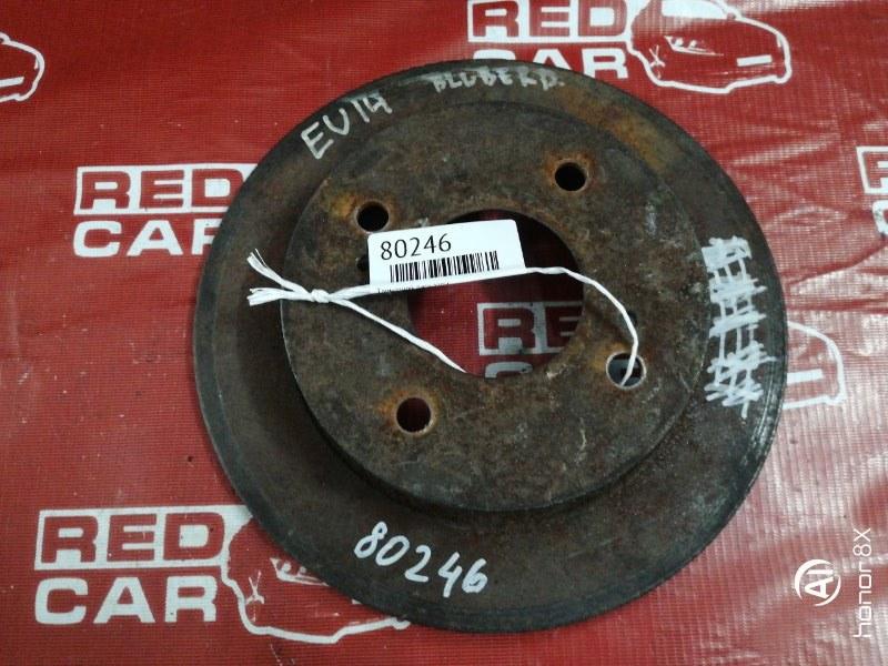 Тормозной диск Nissan Bluebird EU14 задний (б/у)