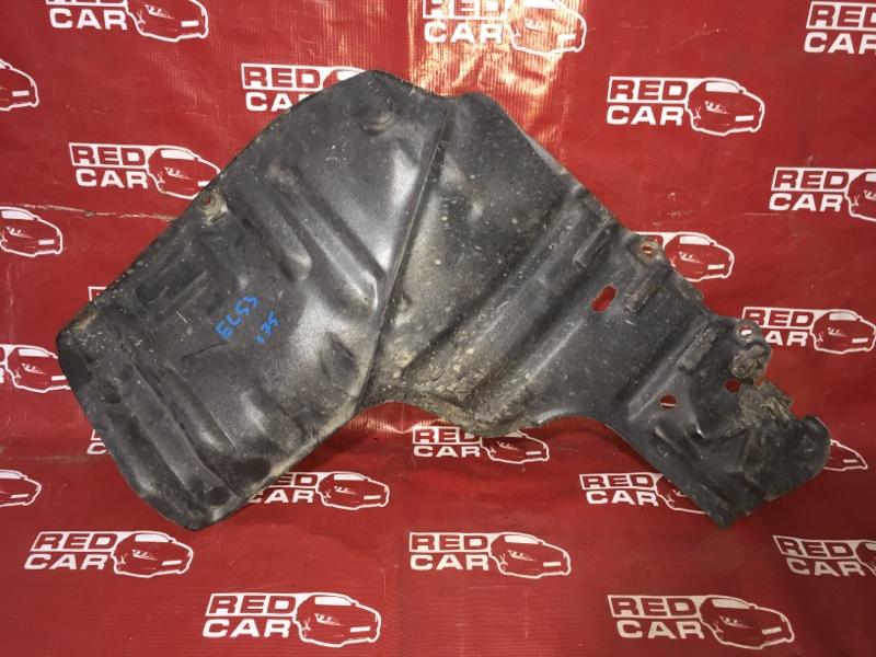 Защита двигателя Toyota Corsa EL53-0371528 5E-1343230 1999 правая (б/у)