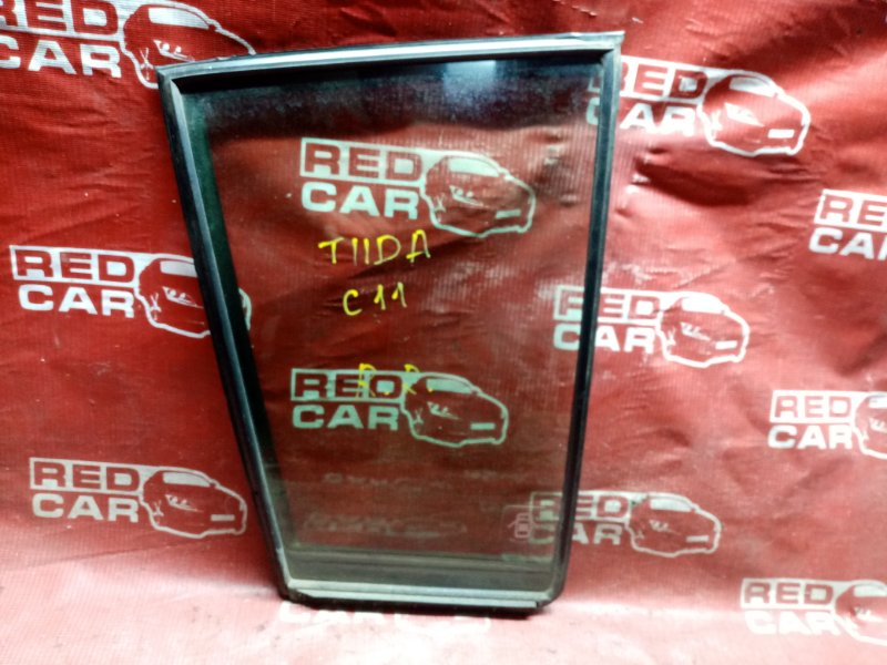 Форточка двери Nissan Tiida C11 2004 задняя правая (б/у)