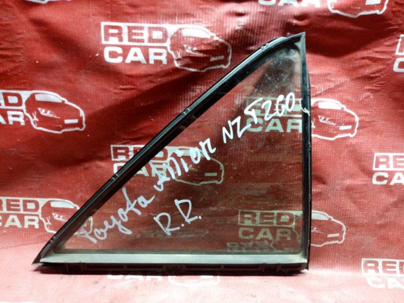 Форточка двери Toyota Allion NZT260 1NZ задняя правая (б/у)