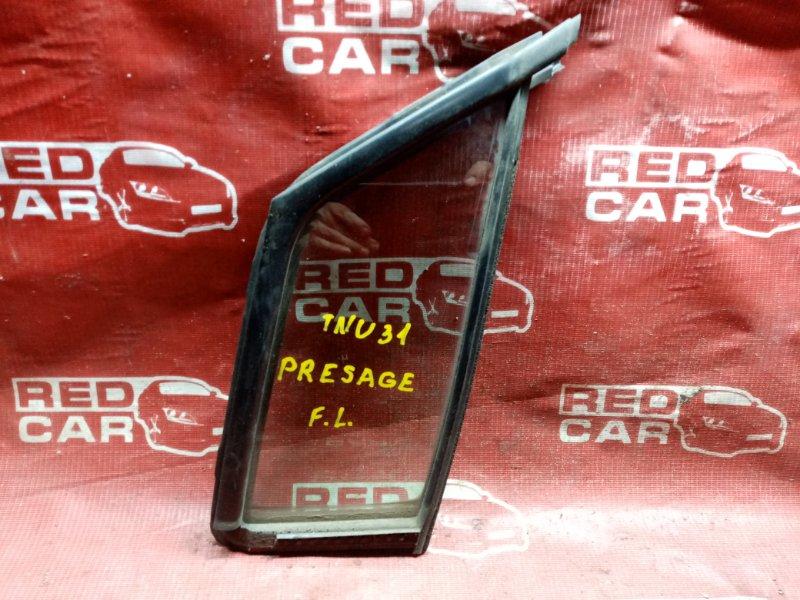 Форточка двери Nissan Presage TNU31 передняя левая (б/у)