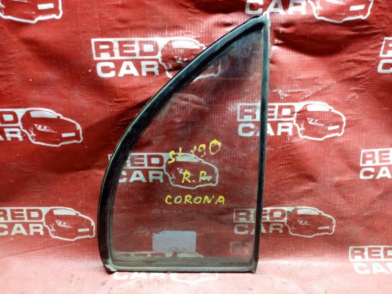 Форточка двери Toyota Corona ST190 задняя правая (б/у)