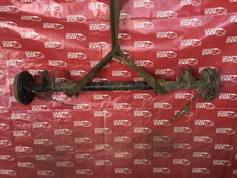 Балка подвески Toyota Probox NCP50 1NZ задняя (б/у)