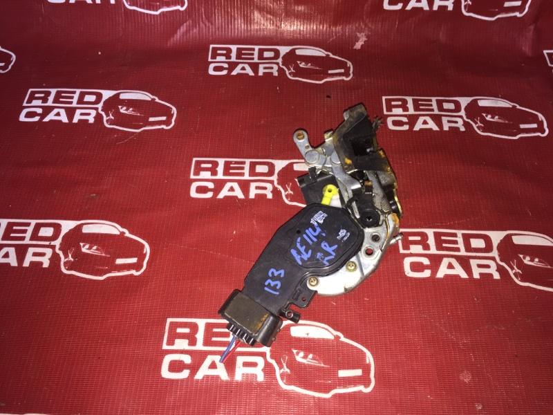Замок двери Toyota Sprinter Carib AE114-7014154 4A 2000 задний правый (б/у)
