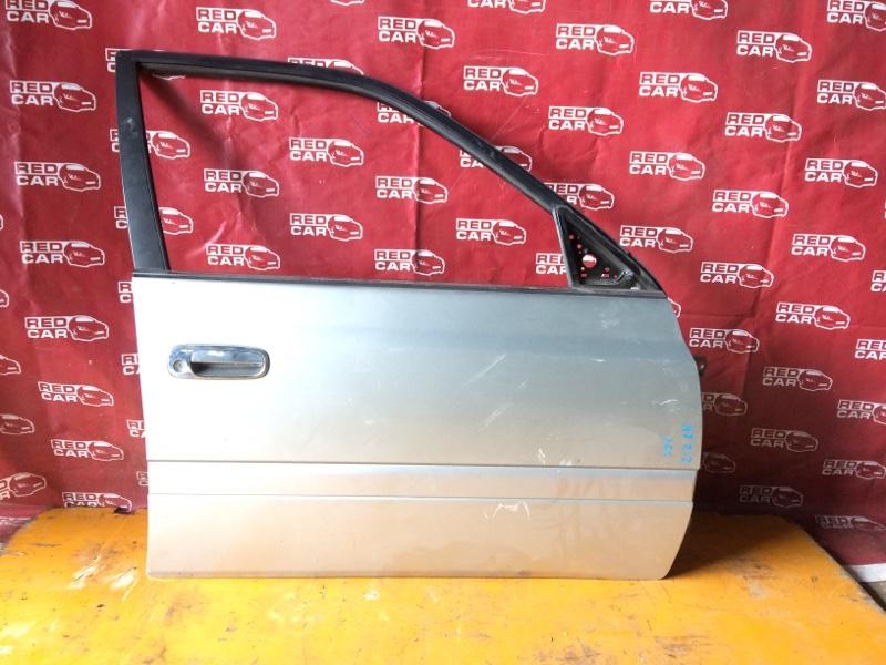 Дверь Toyota Carina AT212-0098205 5A-J203800 2001 передняя правая (б/у)