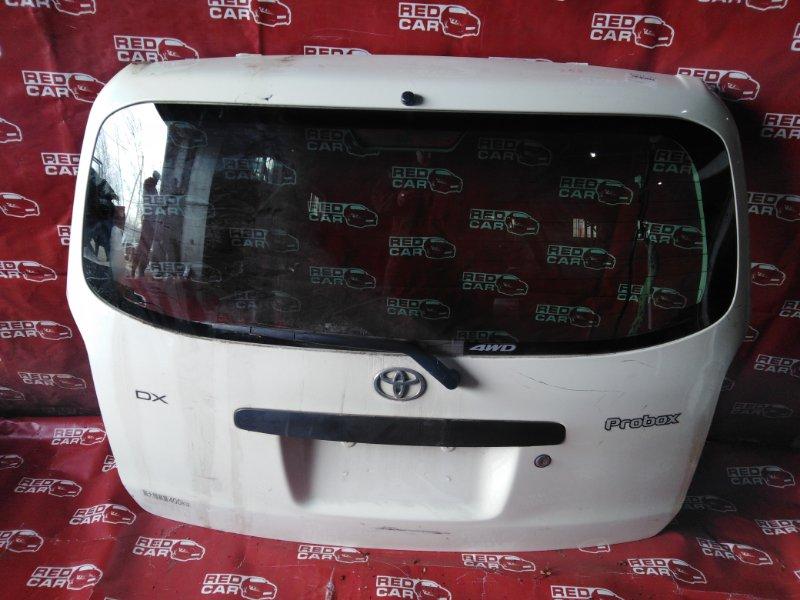 Дверь задняя Toyota Probox NCP55-0052818 1NZ-C602722 2007 (б/у)
