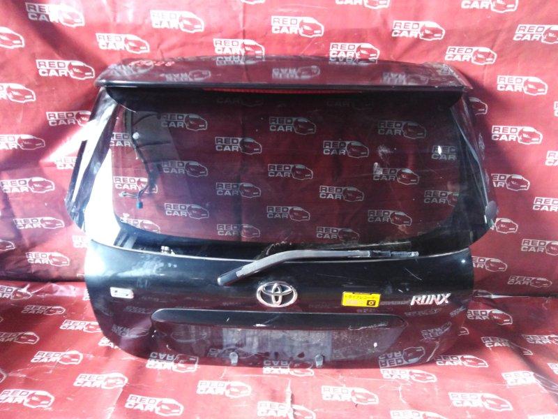 Дверь задняя Toyota Corolla Runx ZZE124-0020190 1ZZ-2428159 2005 (б/у)