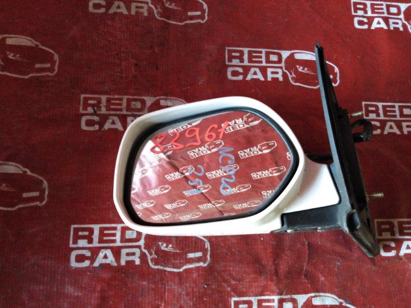 Зеркало Toyota Funcargo NCP20-0200341 2NZ-1919466 2001 левое (б/у)
