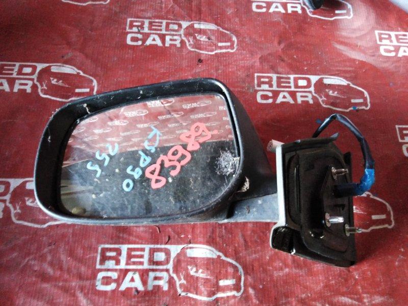 Зеркало Toyota Vitz KSP90-5057608 1KR-0247076 2006 левое (б/у)