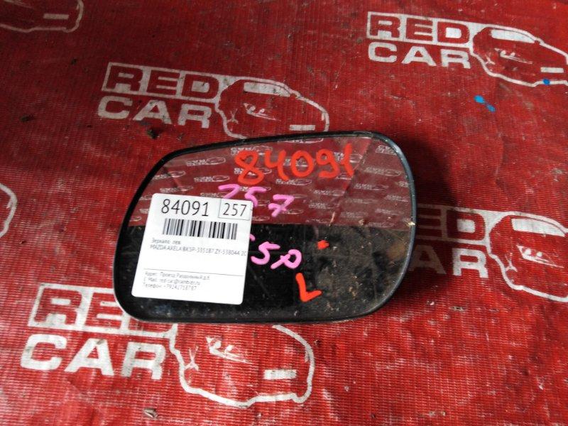 Зеркало Mazda Axela BK5P-335187 ZY-538044 2000 левое (б/у)