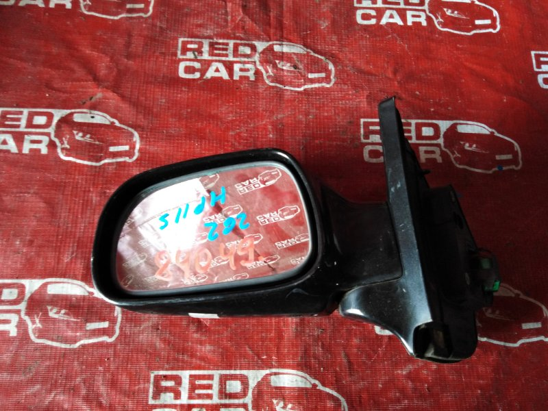Зеркало Mazda Laputa HP11S-601060 F6A-2624121 1999 левое (б/у)