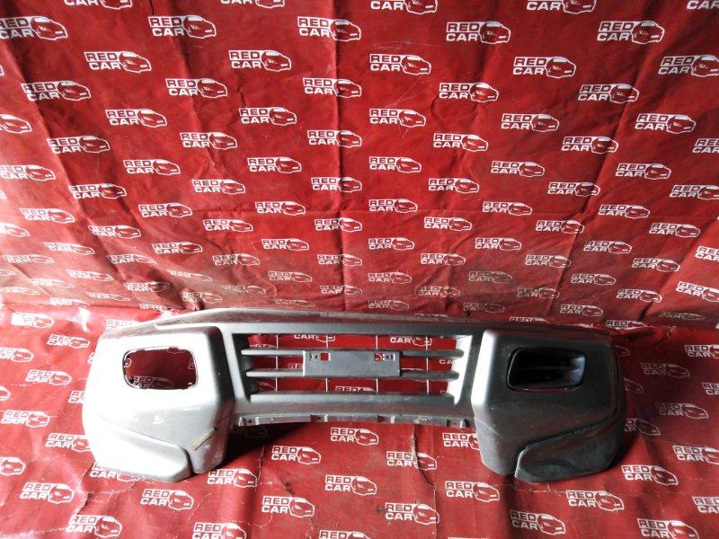 Бампер Mitsubishi Pajero V75W-0007823 6G74 2000 передний (б/у)