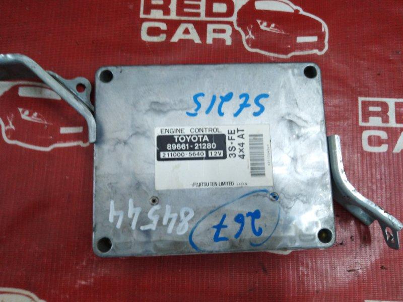 Компьютер Toyota Caldina ST215-3033802 3S-7642783 1998 (б/у)