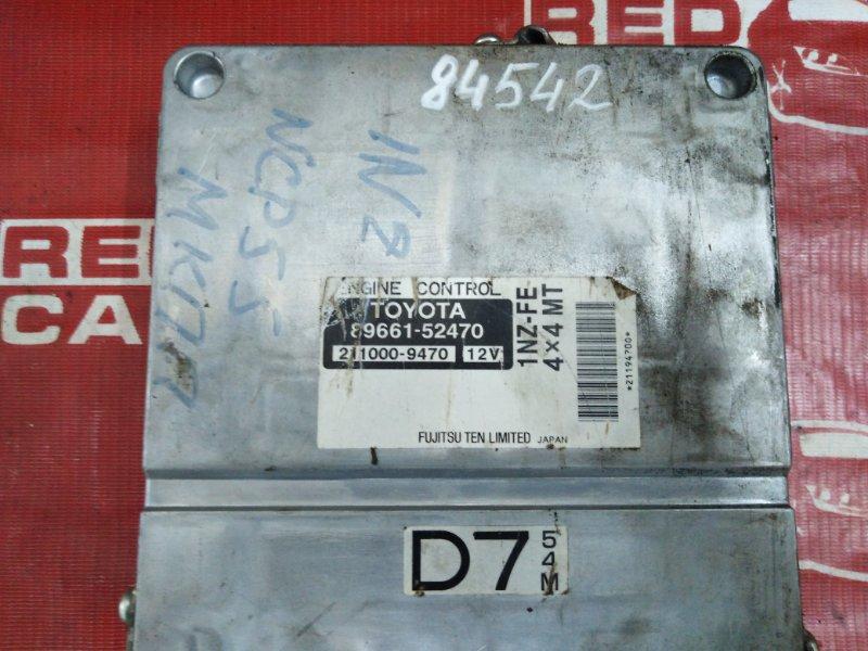Компьютер Toyota Probox NCP55 1NZ (б/у)