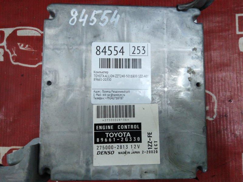 Компьютер Toyota Allion ZZT240-5011800 1ZZ-A039027 2003 (б/у)