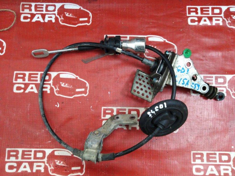 Трос переключения акпп Honda Fit GD3-2013834 L15A-1516114 2007 (б/у)