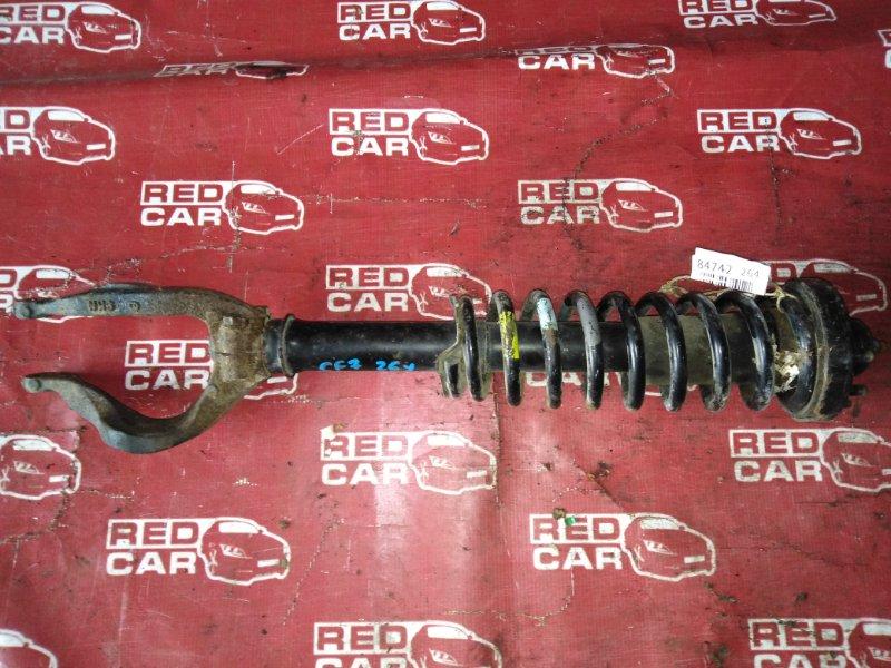 Стойка Honda Accord CF7-1103253 F23A-1084193 1999 передняя левая (б/у)