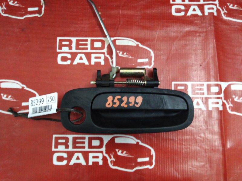 Ручка двери внешняя Toyota Carib AE111-7071013 4A-H371642 1999 передняя правая (б/у)
