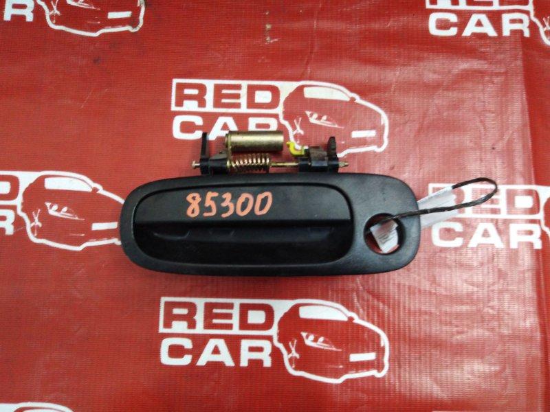 Ручка двери внешняя Toyota Carib AE111-7071013 4A-H371642 1999 передняя левая (б/у)