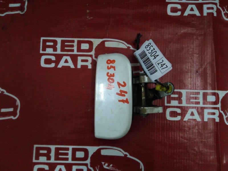 Ручка двери внешняя Nissan Terrano PR50-011147 QD32 1997 задняя правая (б/у)