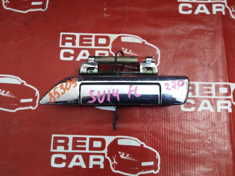 Ручка двери внешняя Nissan Bluebird SU14-105853 CD20-752972X 1999 передняя левая (б/у)