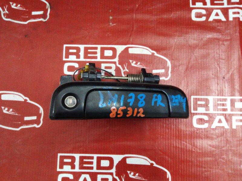 Ручка двери внешняя Toyota Hiace LH178-1006534 5L-5118674 2001 передняя правая (б/у)