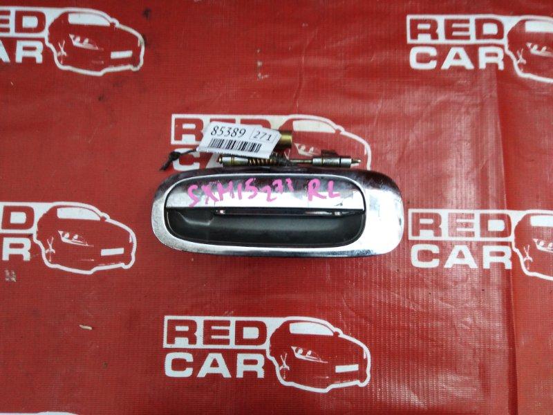 Ручка двери внешняя Toyota Gaia SXM15-7025269 3S-7993135 2002 задняя левая (б/у)