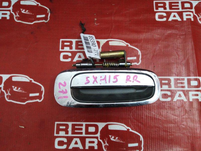 Ручка двери внешняя Toyota Gaia SXM15-7025269 3S-7993135 2002 задняя правая (б/у)