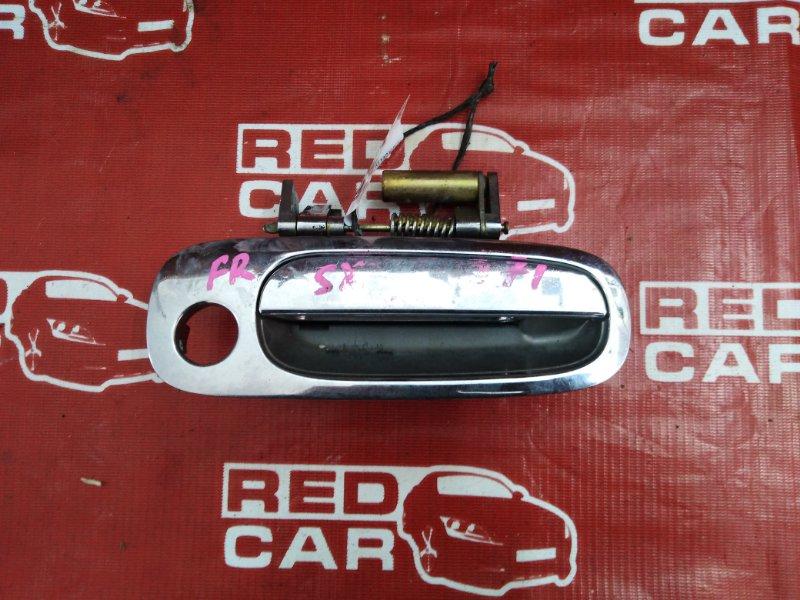 Ручка двери внешняя Toyota Gaia SXM15-7025269 3S-7993135 2002 передняя правая (б/у)