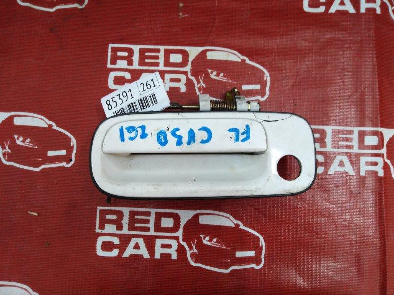 Ручка двери внешняя Toyota Camry CV30-0009311 2C-1698817 1990 передняя левая (б/у)