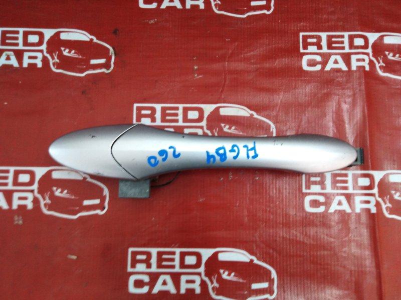 Ручка двери внешняя Honda Freed GB4-1006432 L15A-2506442 2009 передняя левая (б/у)