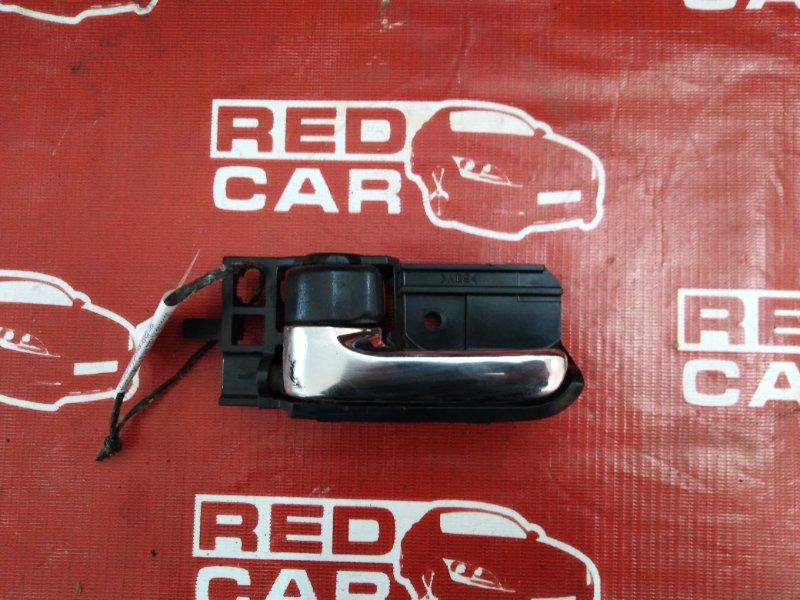 Ручка двери внутренняя Toyota Corolla Runx ZZE124-0020190 1ZZ-2428159 2005 передняя левая (б/у)