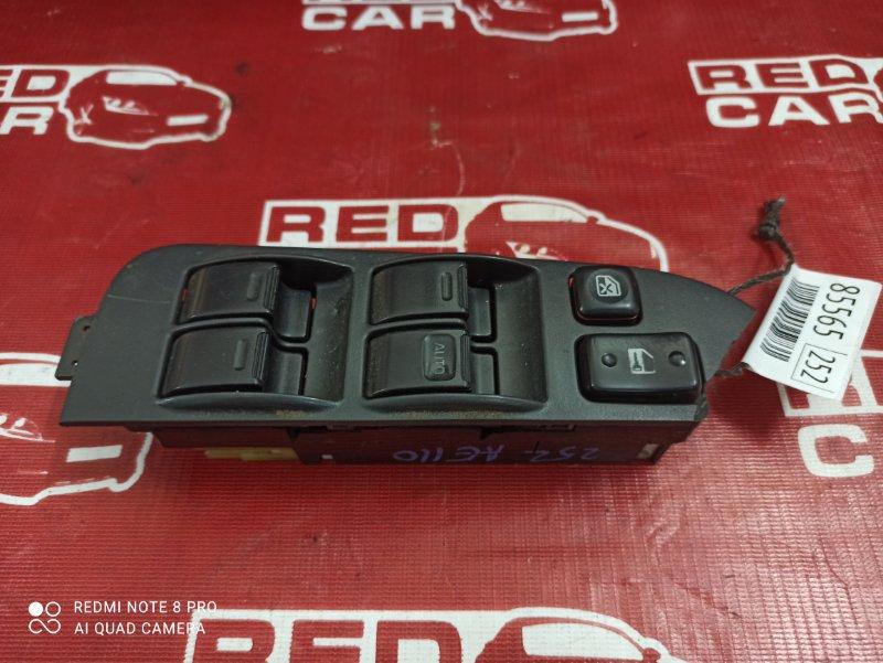 Блок упр. стеклоподьемниками Toyota Sprinter AE110-0062450 5A-C230682 1996 передний правый (б/у)