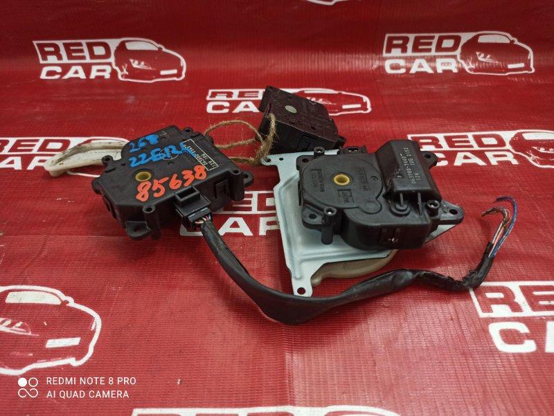 Сервопривод заслонок печки Toyota Corolla Runx ZZE124-0020190 1ZZ-2428159 2005 (б/у)