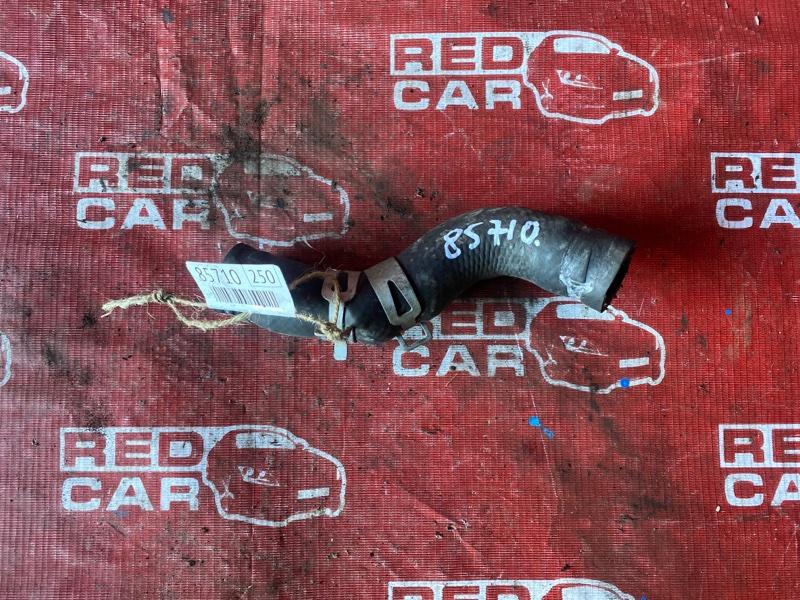 Патрубок радиатора Toyota Carib AE111-7071013 4A-H371642 1999 верхний (б/у)