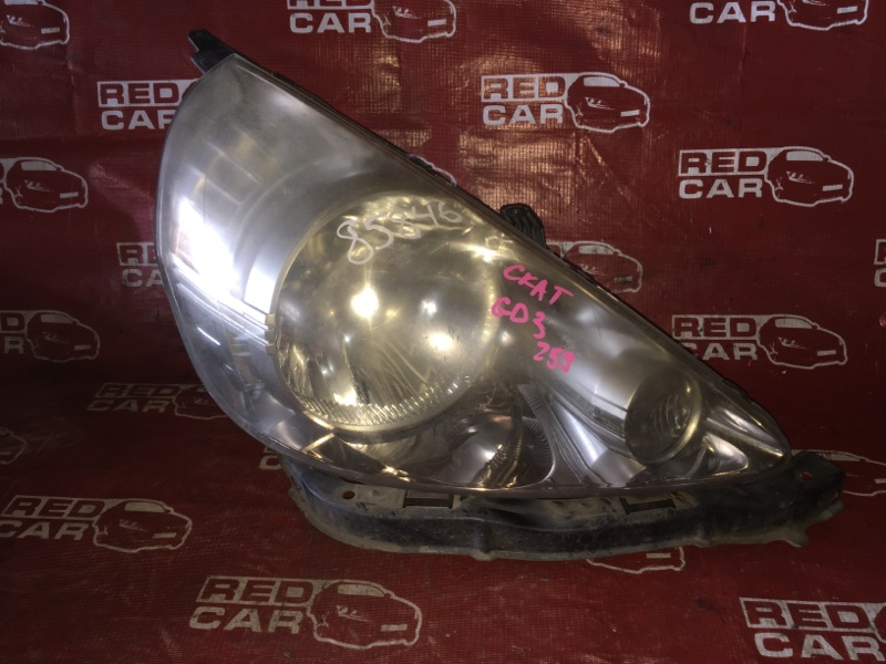 Фара Honda Fit GD3-2013834 L15A-1516114 2007 правая (б/у)