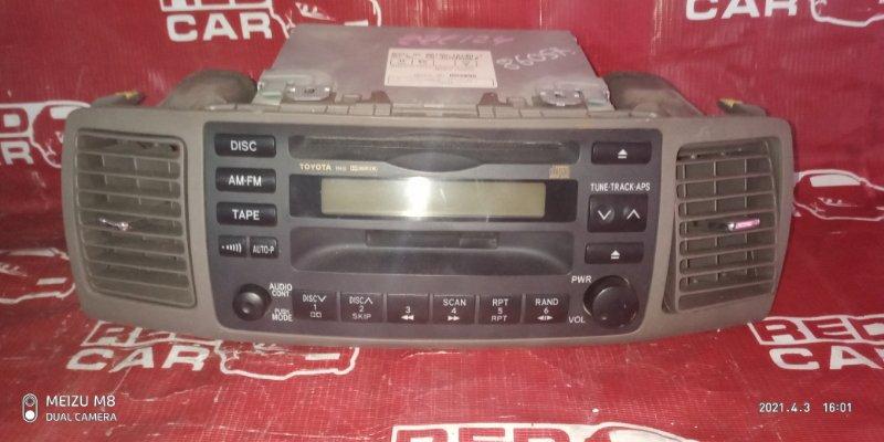Магнитофон Toyota Corolla Spacio ZZE124 (б/у)