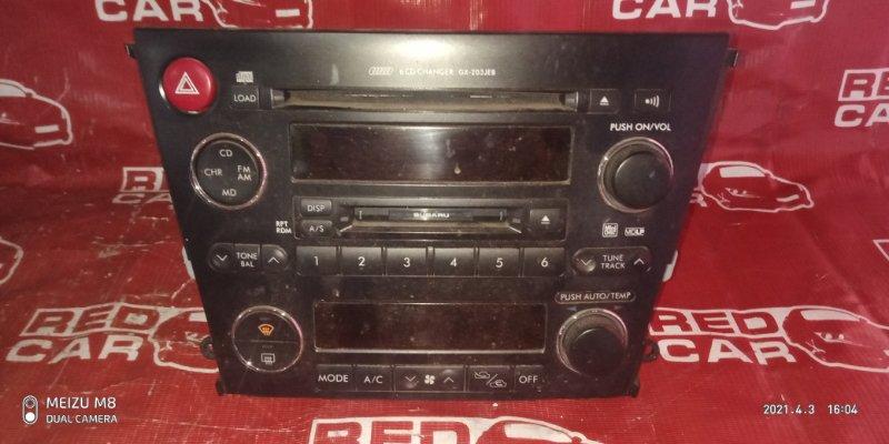 Магнитофон Subaru Legacy BP5-104678 EJ20-C720312 2005 (б/у)